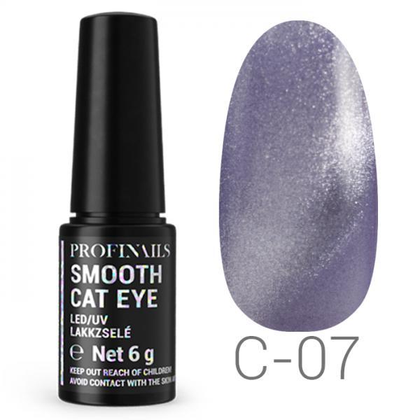 Profinails Smooth Cat Eye LED/UV lakkzselé 6gr C-07