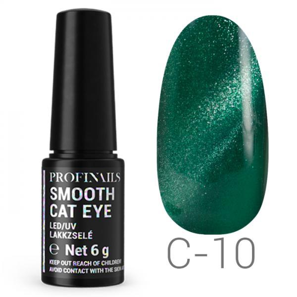 Profinails Smooth Cat Eye LED/UV lakkzselé 6gr C-10