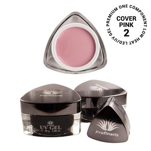 Profinails UV Cover pink zselé #2 (Low heat, LED/UV) 5 g