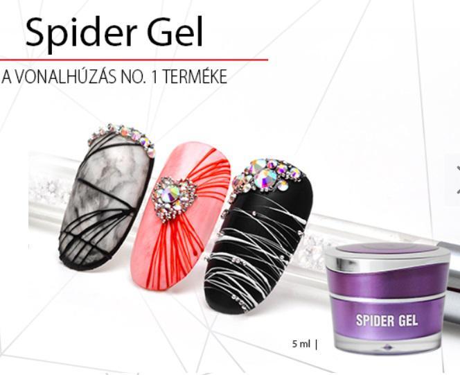 Spider Gel - A vonalhúzás no.1 terméke! FEKETE