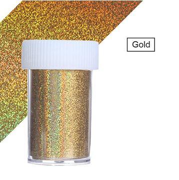 Transzferfólia Holo Gold