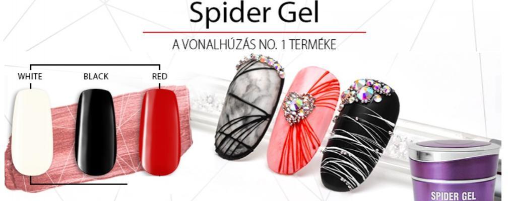 Spider zselé