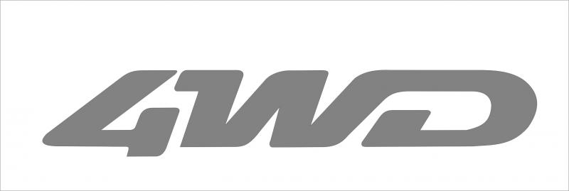4 wd matrica (340x76 mm)