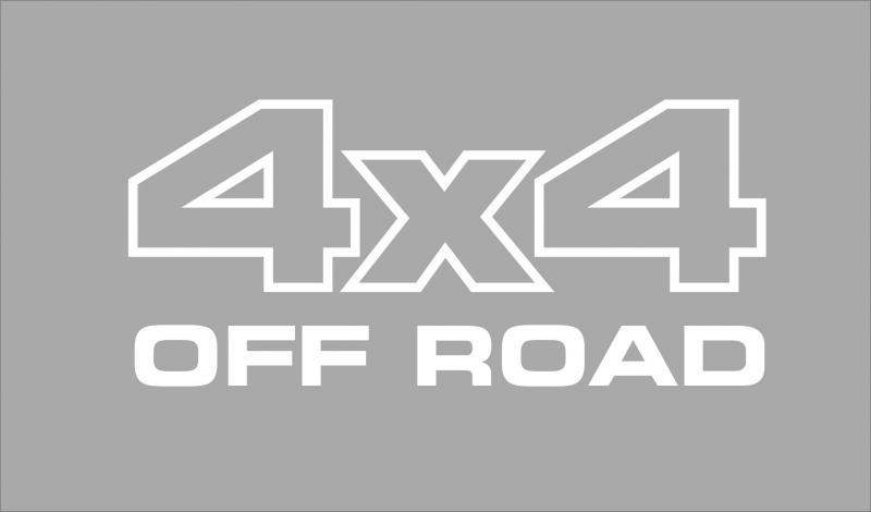 4x4 off road matrica (200x90 mm)
