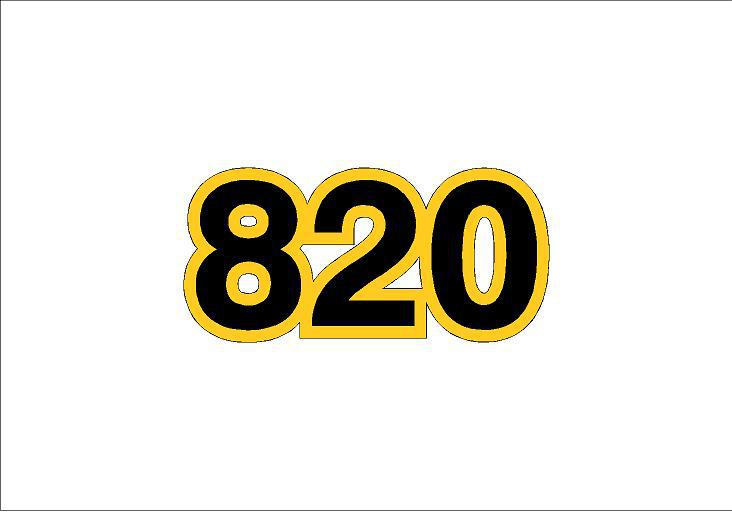 820 matrica