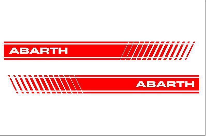 Abarth díszcsík