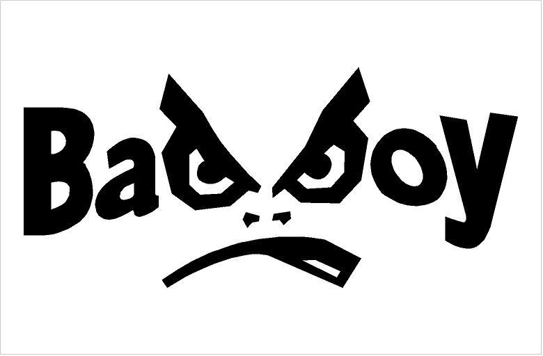 Bad Boy matrica (200x89 mm)