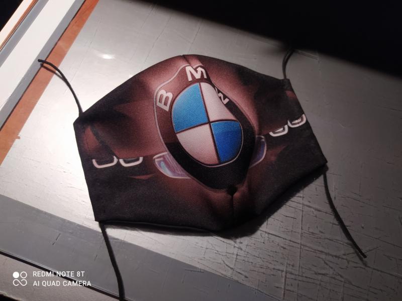 BMW maszk (textil, új)