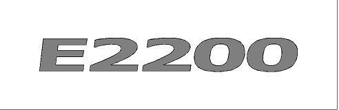 E2200 matrica (M1)