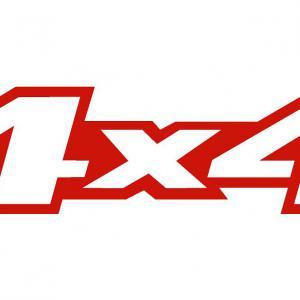 4x4 matrica (Toyota Hilux) (M2)