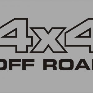 4x4 off road matrica