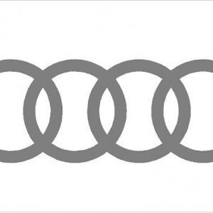 Audi logó karika matrica (M1) 2020