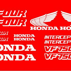 Honda VF 750F INTERCEPTOR matrica szett