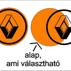 Renault új logós felniközép (digit)