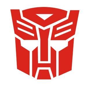 Transformers Autobot matrica (kis méret)