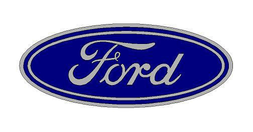 Ford logó matrica