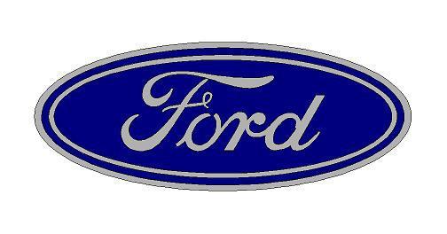 Ford logó matrica (ovális) (M1)