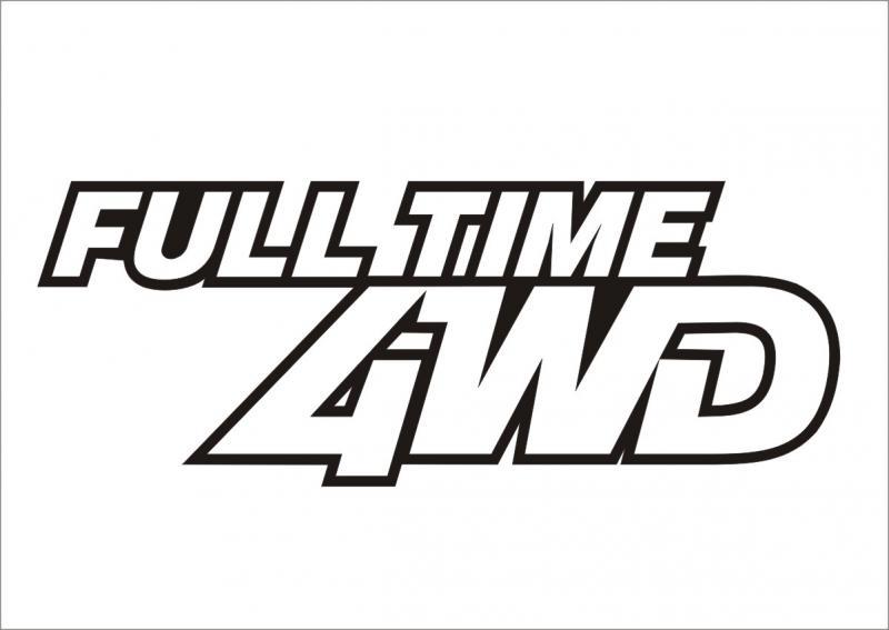 Full Time 4WD matrica (M2)