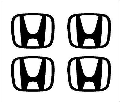 Honda felniközép matrica szett