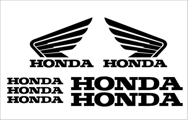 Honda matrica szett alap