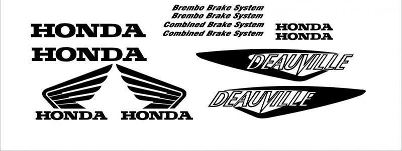Honda NT 650 matrica szett