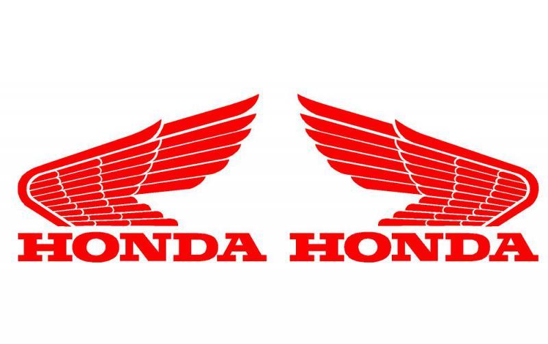 Honda szárnyas matrica /régi/