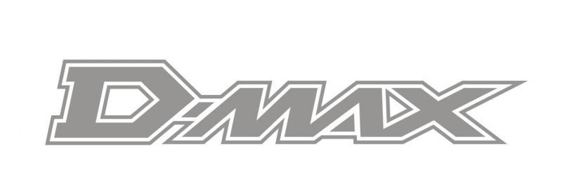 Isuzu D-MAX matrica (150x26 mm)