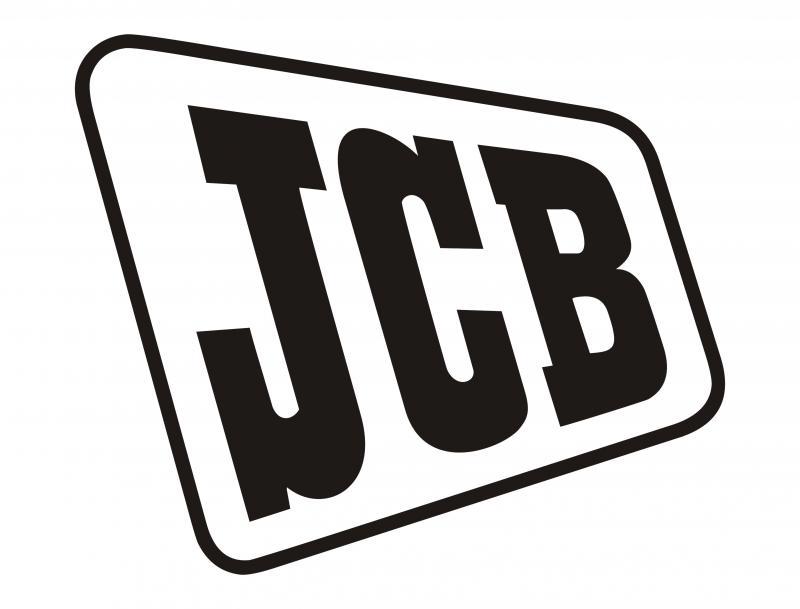 JCB matrica /20x20 cm/