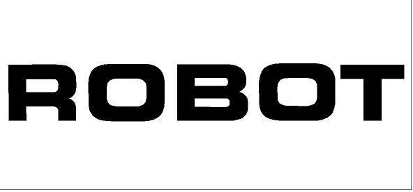 JCB ROBOT matrica (400x58 mm)