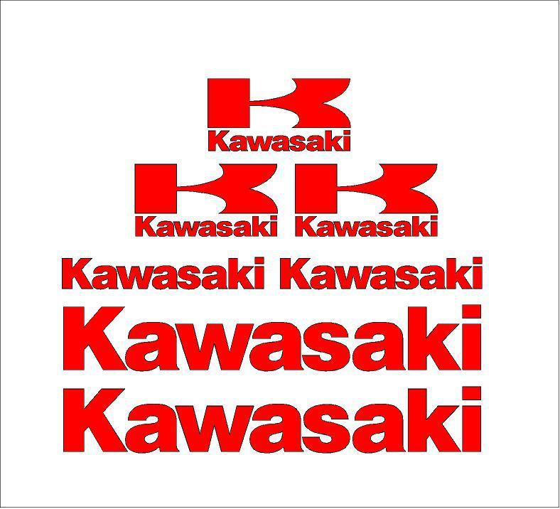 Kawasaki matrica szett