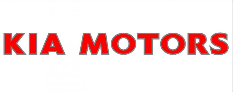 KIA MOTORS matrica