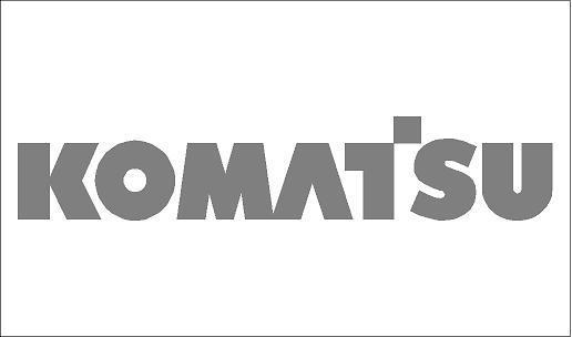 Komatsu matrica (kis méretű)