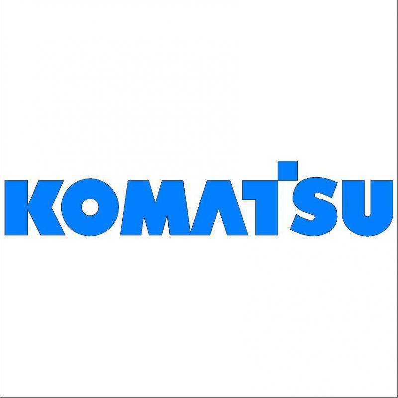 Komatsu matrica (nagy méretű)