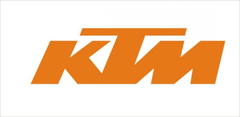 KTM matrica (120x34 mm)