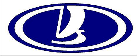 Lada logó új (100x40 mm)
