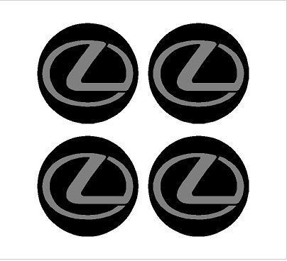 Lexus felni közép matrica szett
