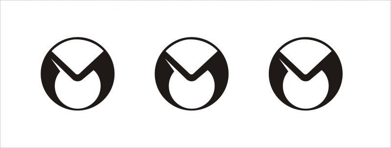 Malaguti logó matrica szett (60 mm)