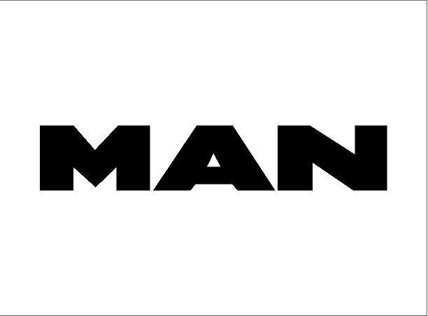 MAN matrica (nagy méret)