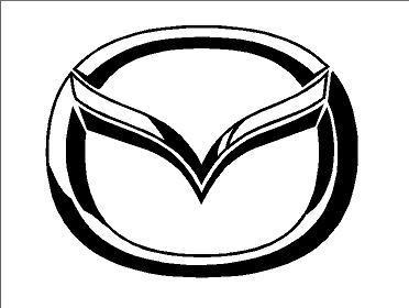 Mazda logó (ovális) (M1)