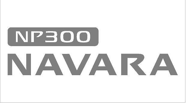 Navara NP300 matrica szett (150x42 mm)