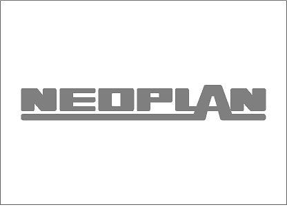 Neoplan matrica (kis méret)