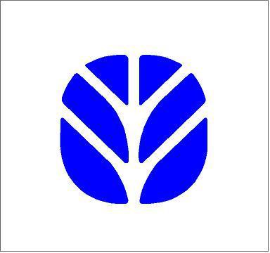 New Holland logó matrica k1