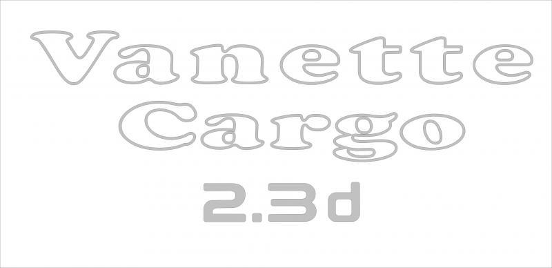 Nissan Vanette Cargo 2.3 d 1.