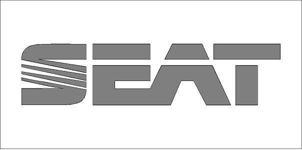 Seat logó matrica (M2)
