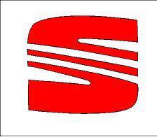 Seat S logó matrica (100x88 mm)