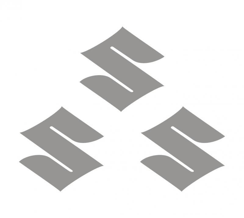 Suzuki logo (S) matrica szett