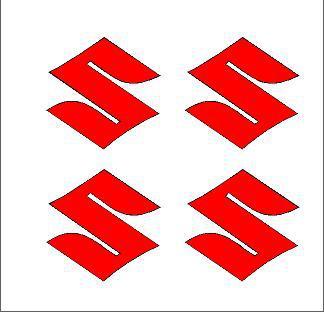 Suzuki (S) felni közép matrica szett