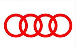 Audi logó karika matrica (M2) 2020