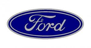 Ford logó matrica (ovális) (M2)