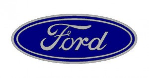 Ford logó matrica (ovális) (M3)
